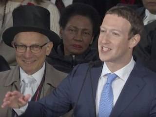 Facebook CEO Mark Zuckerberg Gives Harvard Commencement Speech