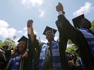 2017 Commencement Speakers Drop Knowledge on Young America