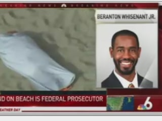 Mystery Over Body of Federal Prosecutor Found on Beach