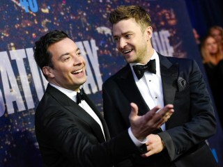 Justin Timberlake and Jimmy Fallon Go 'Bro-Biking' in the Hamptons