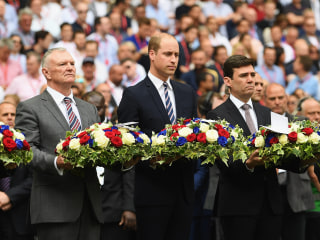 Prince William Honors Victims of Manchester Arena Attack at Wembley Stadium