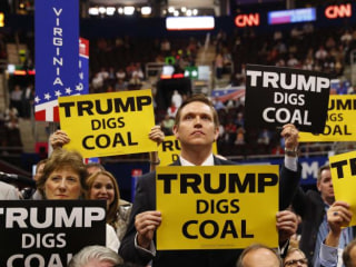 Even With Trump as Cheerleader, the Coal Industry Can Only Decline