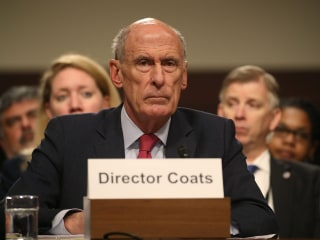 Intelligence Director Coats Faces Senate Amid Swirl of New Claims of Trump Interference