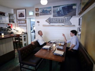 Trudeau and Obama Share Intimate Montreal Meal