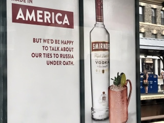 Smirnoff Vodka Aims Top Shelf Snark at Probe of Trump Team Russia Ties