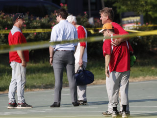 Gunman Opens Fire at Republican Baseball Practice