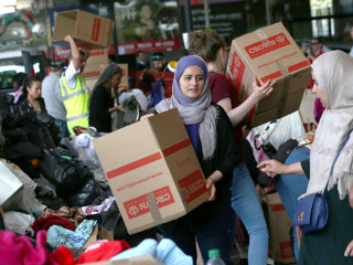 London Fire: Huge Community Response Brings Flood of Donations