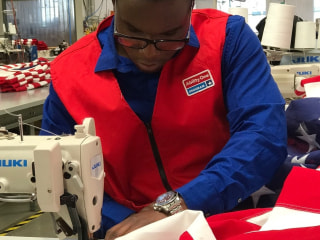 Meet the Young Man Who Makes Flags for America's Fallen Soldiers