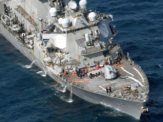Bodies of 7 Missing U.S. Sailors Found in Destroyer Damaged in Collision