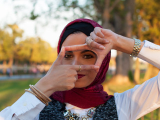 'Muslims in America' Portraits Showcase Community's Diverse Roots