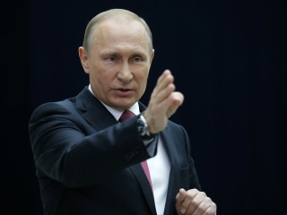 Vladimir Putin: 87 Percent of Russians Back Leader on Global Issues