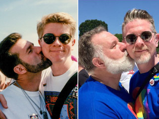 Couple Recreates LGBT March on Washington Photo Two Decades Later