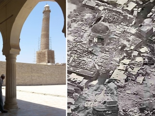 ISIS Destroys Historic al-Nuri Mosque in Mosul, Iraqi Military Says
