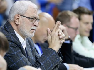 Phil Jackson Reportedly Fell Asleep During Prospect's Workout