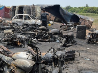 Pakistan Oil Tanker Crash, Explosion Kills at Least 153