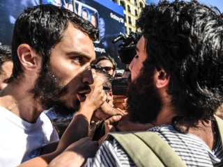Istanbul Gay Pride Activists Defy Ban, Tear Gas and Far-Right Threats