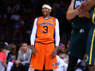 Watch: Allen Iverson Makes Return to Basketball