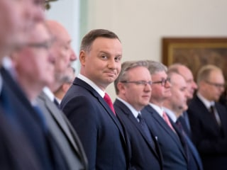 To Welcome Trump, Poland Taps Old Communist Party Playbook