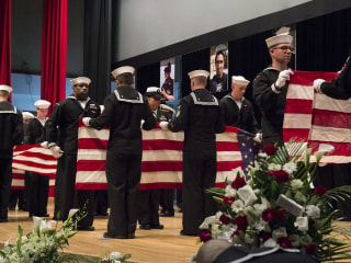 U.S. Sailors Killed in Ship Collision Off Japan Honored in Navy Memorial