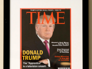 Time Asks Donald Trump's Golf Clubs to Remove Phony Magazine Cover