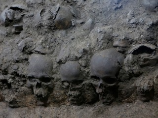Tower of Human Skulls in Mexico Casts New Light on Aztec Sacrifices