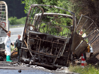 Germany Bus Crash: 18 Dead, 30 Injured After Seniors' Coach Hits Truck