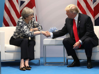 Trump Pledges Trade Deal With Post-Brexit Britain to Be Done 'Very Quickly'