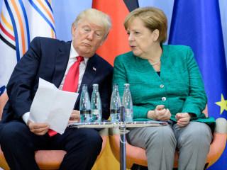 G-20 Shut Trump out on Climate, Merkel Calls U.S. Policy 'Regrettable'