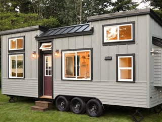 This tiny home can actually sleep 7 people inside — check it out!