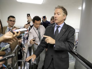 Sen. Rand Paul's wife says he's been in pain since being attacked