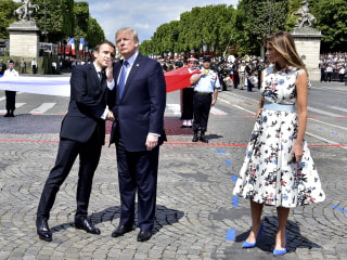 Trump in Paris: France Celebrates Bastille Day With American Twist