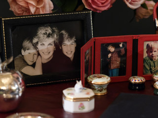 Princess Diana's personal belongings on display to mark 20th anniversary of her death