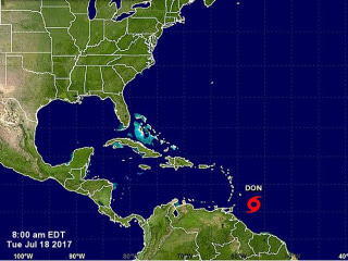 Tropical Storm Don Develops in Atlantic, but Its Name Is Not a Political Jab