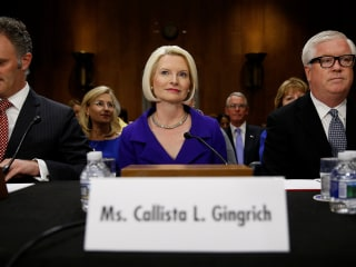 Callista Gingrich Casts Trump as Guardian of the Environment