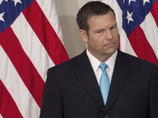 Illegal Voting? Not Much in Kobach's Home State