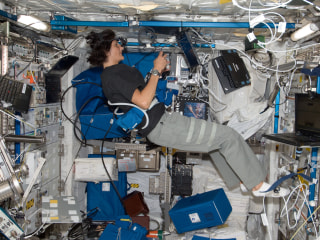 For Astronauts, Crazy Risks Come with the Job