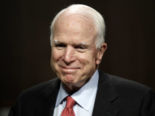 McCain Thanks Well-Wishers, Vows 'I'll Be Back Soon'