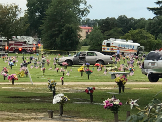 South Carolina Man Charged With Attempted Murder After Driving Into a Dozen Cemetery Mourners