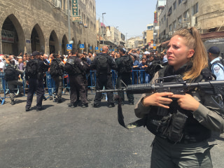 Al Aqsa Mosque Clashes: Israel Bans Men Under 50 From Jerusalem Holy Site