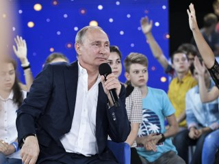 Russia's Putin: I Will Not Change Constitution to Stay in Power