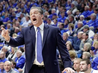 WATCH: Kentucky's John Calipari Dunks at Age 58