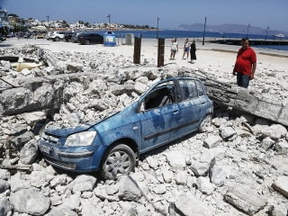 Strong Aftershocks Test Nerves on Greek Island After Quake