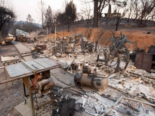 Major California Wildfire Slows as Residents Try to Recover
