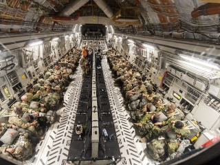 12 U.S. Paratroopers Hospitalized After Night Jump in Romania