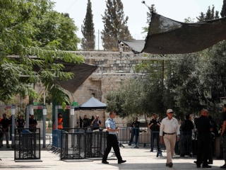 Israel Installs Cameras at Holy Site Amid Flaring Tensions With Muslim Worshipers