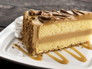 Get the dish on Olive Garden's brand-new cookie butter cake
