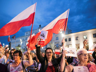 Polish President Duda to Veto Reform Bills That Triggered Protests