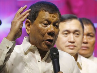 Philippine President Duterte Vows to Continue Nation's War on Drugs