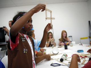 Girl Scouts Offer New Badges for Science, Technology, Engineering and Math