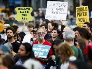 Bernie Sanders' 'Medicare for All' Plan Is Popular — For Now